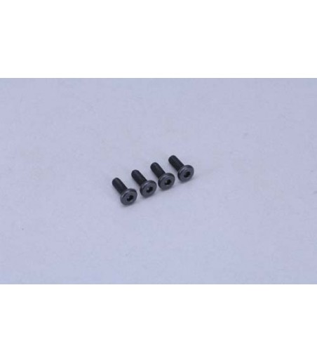 XTM Racing Backplate Bolt(3x8mm/Pk4)XTM247 Pro