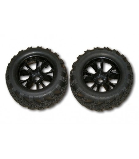 DHK Zombie - Wheel and Tyre (2 pcs)
