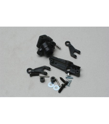 HOBAO VS GRAPHITE FRONT SERVO SAVER TOP PLATE - 2.5MM