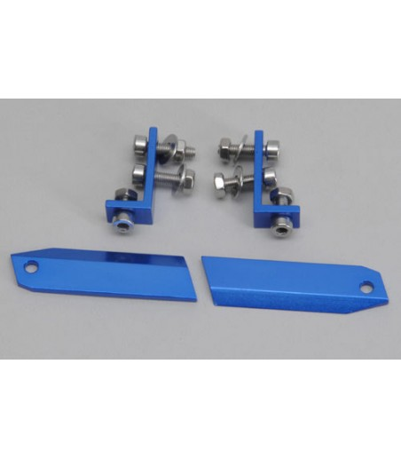 KILLERBODY REAR WING MOUNT 1/10 HIGH (CNC ALUMINUM)