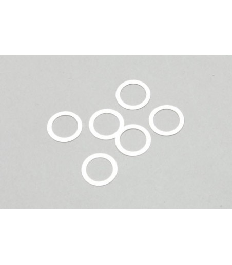 River Hobby 16T Washer (6Pcs)