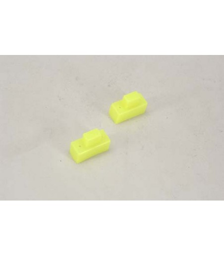 XTM Racing Silicone Switch Cover (Yellow/Pk2)