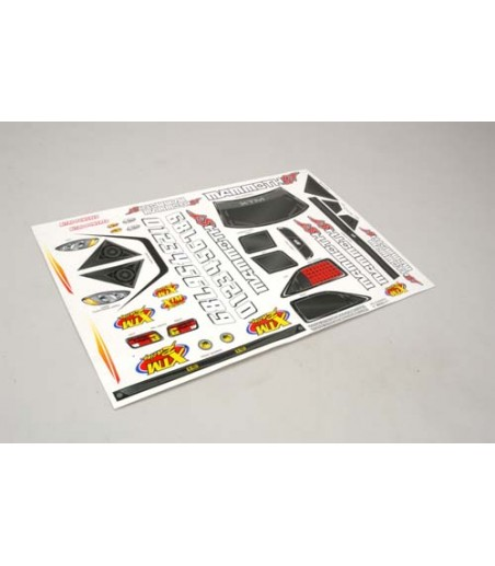 XTM Racing Decal Sheet - Mammoth ST
