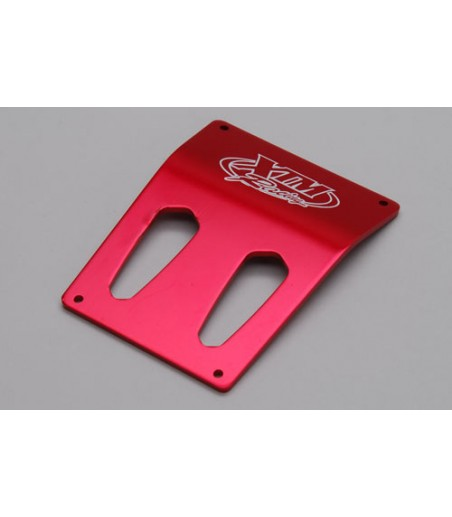 XTM Racing Roof Plate (Red) - Rail