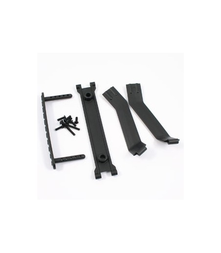 RPM EXTENDED LEFT REAR A-ARMS FOR TRAXXAS SUMMIT & REVO - BLUE
