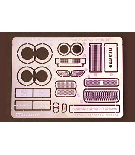 TAMIYA 1/24 GTR Z TUNE PHOTO ETCH PARTS