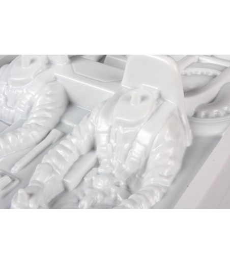 ASSOCIATED RC10 STEERING BLOCKS (WHITE)