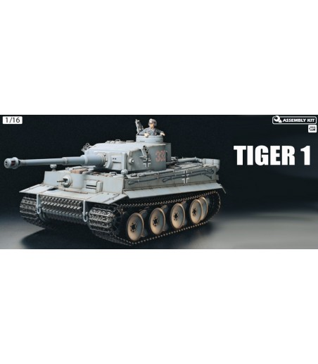 TAMIYA R/C TIGER TANK W/OPTION KIT