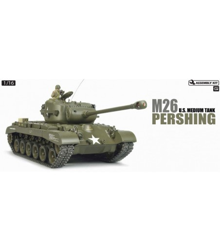 TAMIYA RC M26 PERSHING WITH OPTION KIT