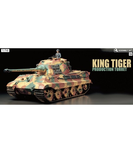 TAMIYA R/C KING TIGER WITH OPTION KIT