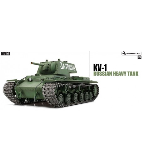 TAMIYA R/C RUSSIAN KV-1 W/OPTION KIT