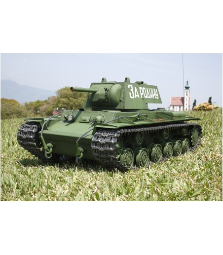 TAMIYA R/C RUSSIAN KV-1 W/OPTION KIT 2