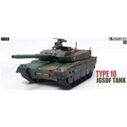 TAMIYA JGSDF TYPE 10 TANK W OPTION KIT