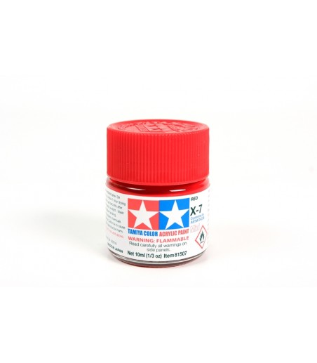 TAMIYA ACRYLIC MINI X-7 RED
