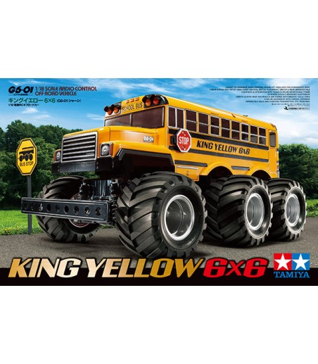 TAMIYA KING YELLOW 6X6 (G6-01)