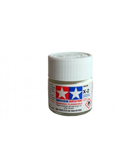 TAMIYA ACRYLIC MINI X-2 WHITE
