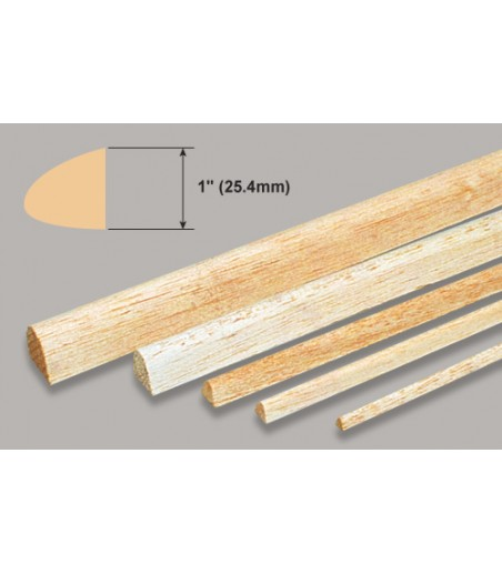 "Slec Balsa L.Edge - 1x36"" / 25.4x914mm"