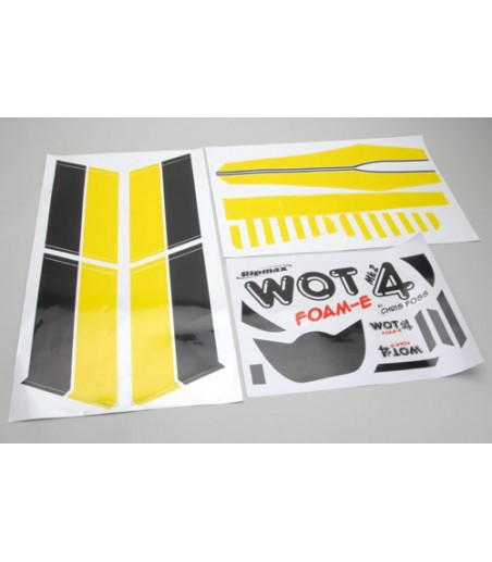 Ripmax WOT4 Foam-E - Decal Set (Yellow)
