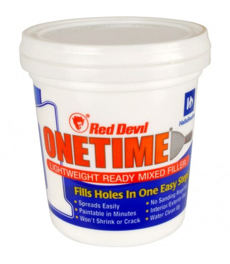 Red Devil One Time LIGHTWEIGHT MODELING Filler 500ML