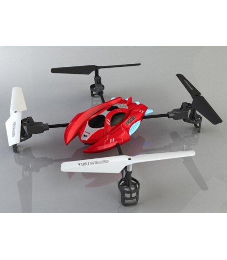 Syma X7 2.4G 4 Channel Remote Control RC Quadcopter  RED