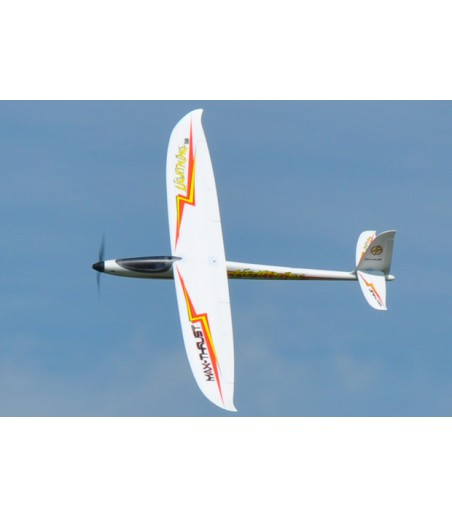 MAX-THRUST LIGHTNING 1500 ELECTRIC GLIDER. PLUG AND PLAY 2