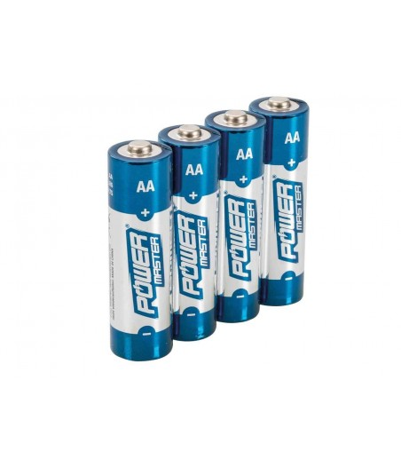 Power Matser AA Super Alkaline Battery LR6 4pk