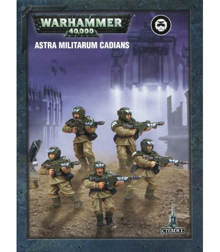 Warhammer 40,000 EASY TO BUILD ASTRA MILITARUM CADIANS