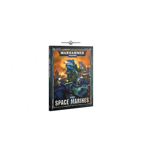 Warhammer 40,000 Codex: Space Marines (Hardback)
