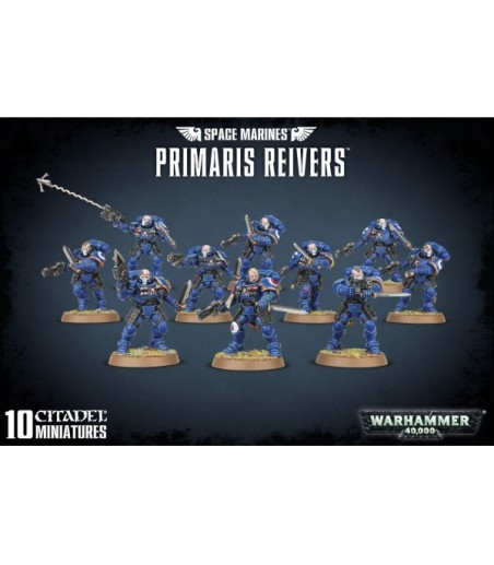 Warhammer 40,000 SPACE MARINES PRIMARIS REIVERS