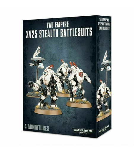 Warhammer 40,000 TAU EMPIRE XV25 STEALTH BATTLESUITS