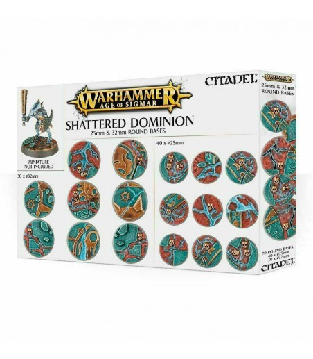 Warhammer AOS: SHATTERED DOMINION: 25 & 32MM ROUND