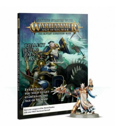 Warhammer GETTING STARTED WITH AGE OF SIGMAR (ENG)