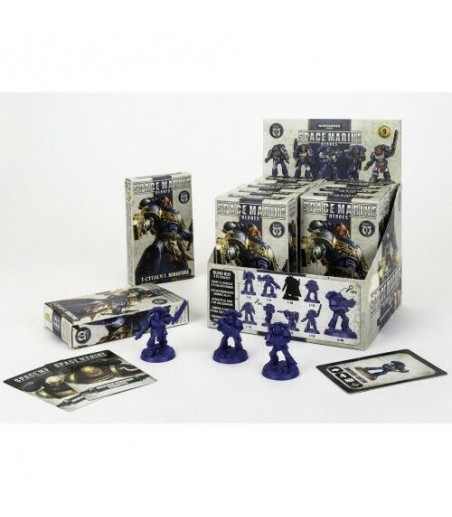 Warhammer 40K - Space Marine Heroes Rest Of The World Series 1 - 1 Blind Box