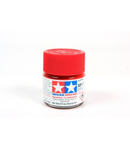 TAMIYA ACRYLIC MINI XF-7 FLAT RED