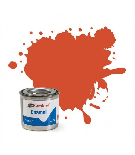 132 Red Satin - 14ml Enamel Paint