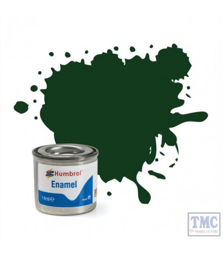Humbrol No 3 Brunswick Green - Gloss - Tinlet No 1 (14ml)