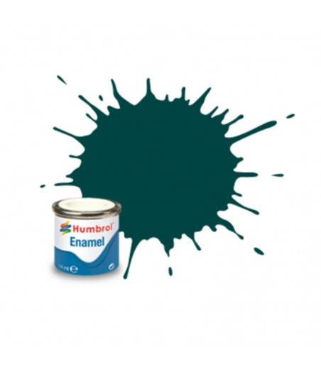 239 British Racing Green Gloss - 14ml Enamel Paint