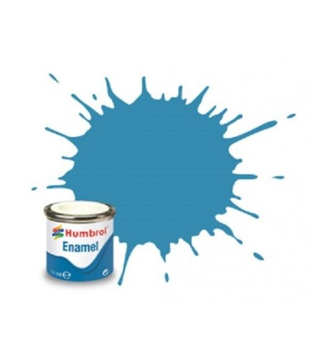 Humbrol No 48 Mediterranean Blue - Gloss - Tinlet No 1 (14ml)