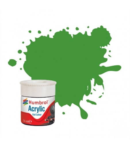 Humbrol Apple Green RC408 Acrylic Rail Paint