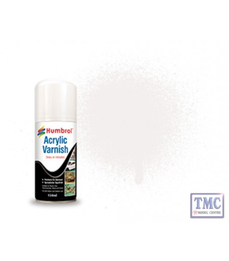 Humbrol Acrylic No 35 Varnish Gloss - Modellers Spray 150 ML