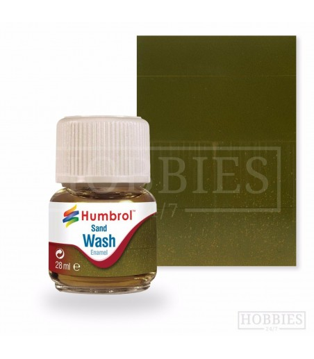 Humbrol 28ml Enamel Wash - Sand
