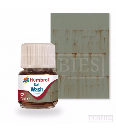 Humbrol 28ml Enamel Wash - Rust