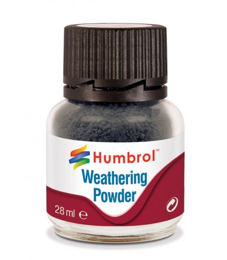 Humbrol weathering powder 28ml - smoke