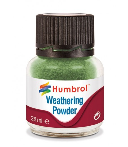 humbrol  Weathering Powder 28ml - Chrome Oxide