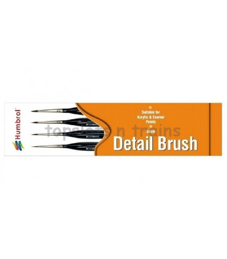Humbrol Brush pack - Triangle Handle