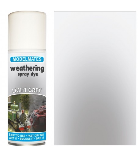 Modelmates Weathering Spray Can - Light Grey 200ml