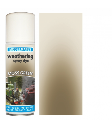 Modelmates Weathering Spray Can - Moss Green 200ml