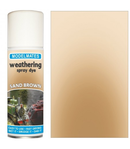 Modelmates Weathering Spray Can - Sand Brown 200ml