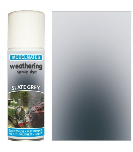 Modelmates Weathering Spray Can - Slate Grey 200ml
