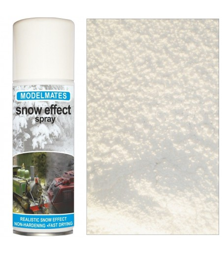 Modelmates Weathering Spray Can - Snow Effect 200ml